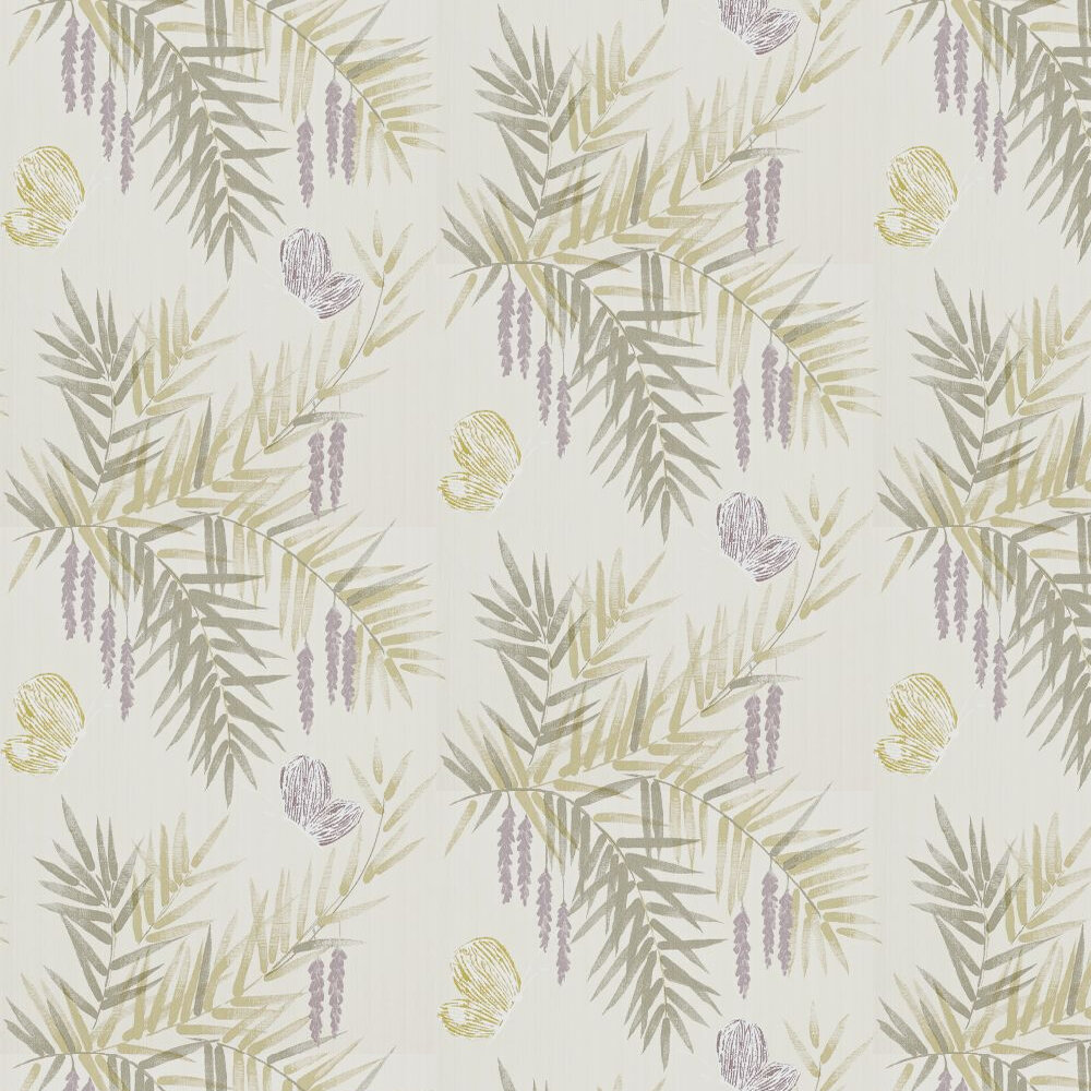 Harlequin Floret Heather / Linen Wallpaper - Product code: 110677