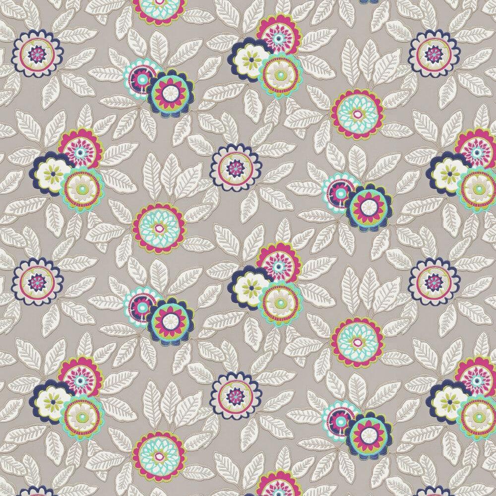 Harlequin Eden Fuchsia / Violet / Grey Wallpaper - Product code: 110700