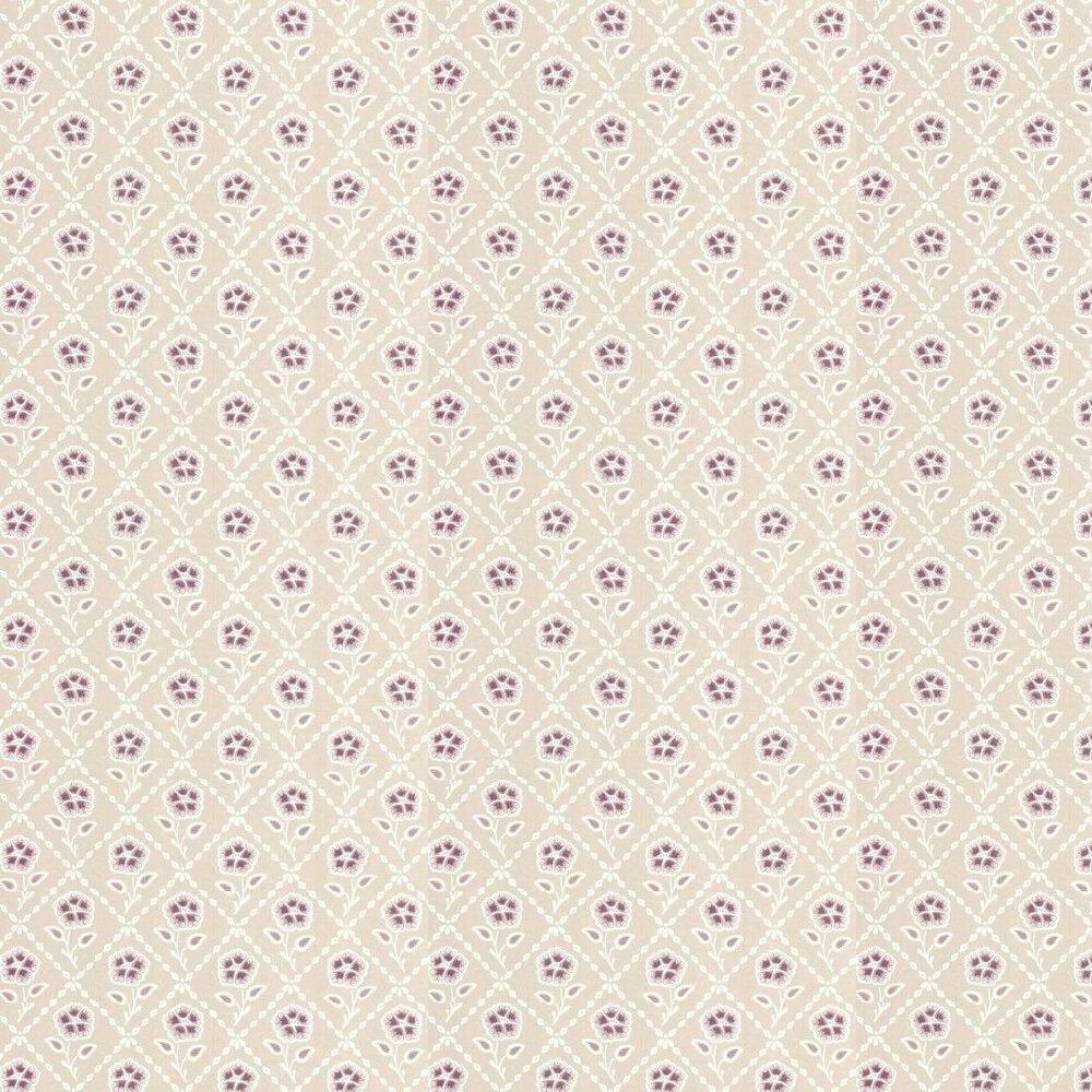 Little Greene Whitehall  Cassis Wallpaper - Product code: 0284WHCASSI