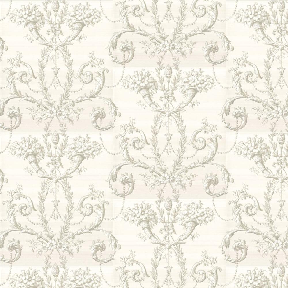 Versailles  Wallpaper - Argent - by Little Greene