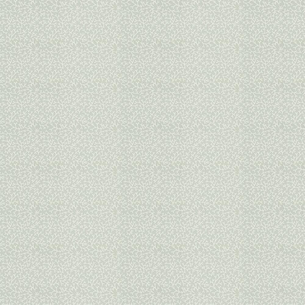 Samphire Wallpaper - Duck Egg/ White - by Farrow & Ball
