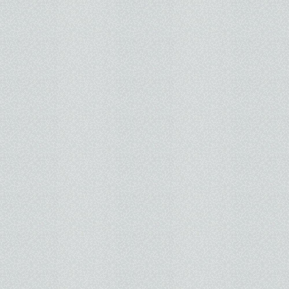 Samphire Wallpaper - Powder Blue/ White - by Farrow & Ball