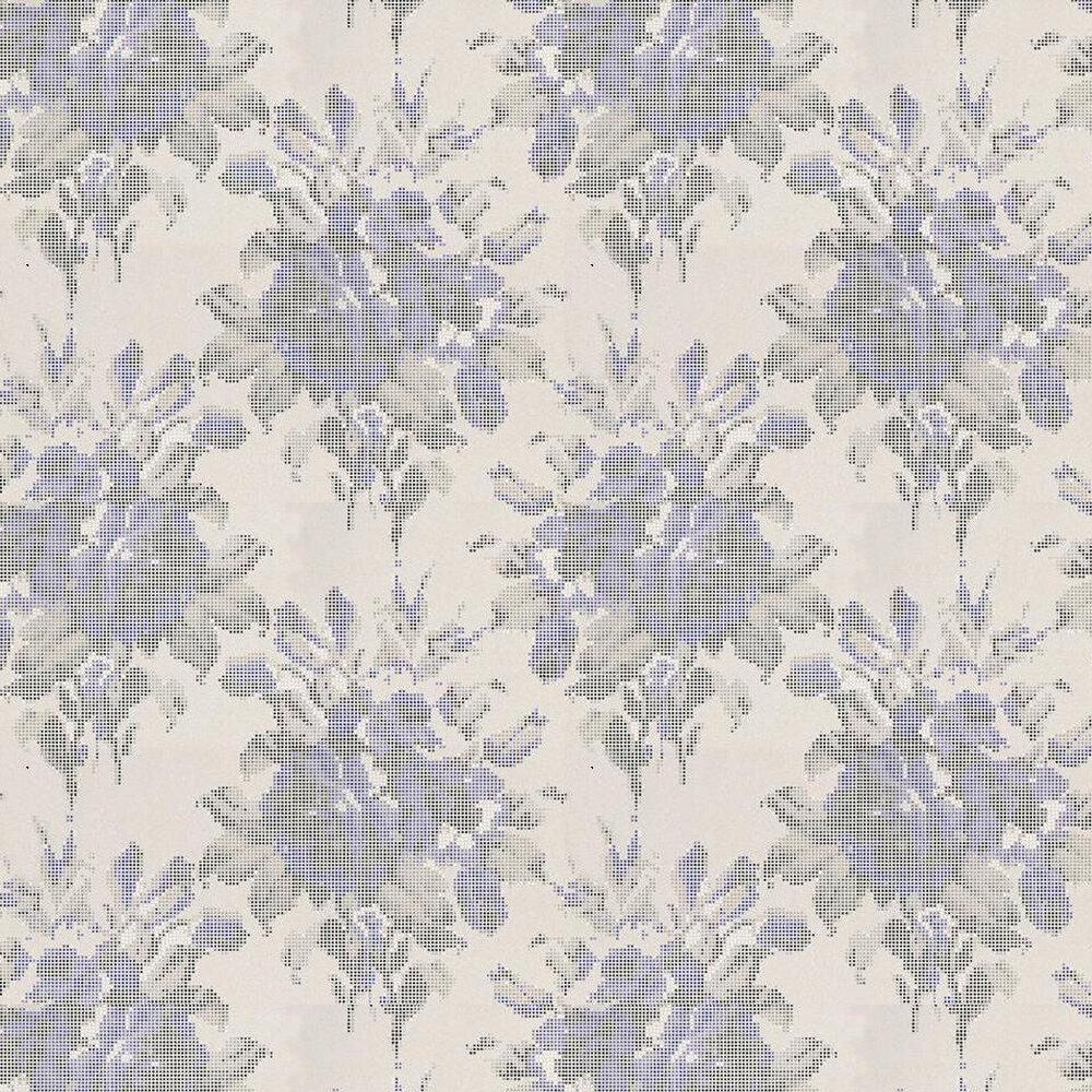 Osborne & Little Pot Pourri Silver / Sapphire / Slate Wallpaper - Product code: W6598-03
