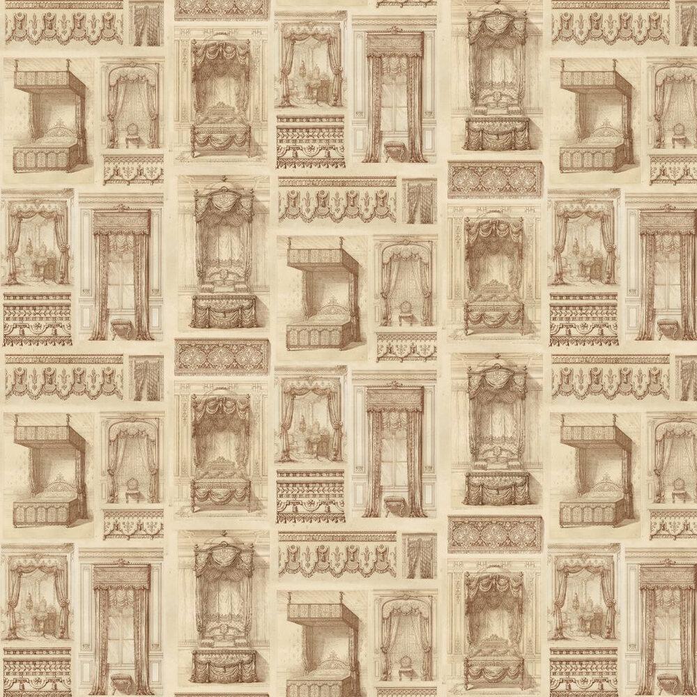 Linwood King Louis Sepia Wallpaper - Product code: LW40/1