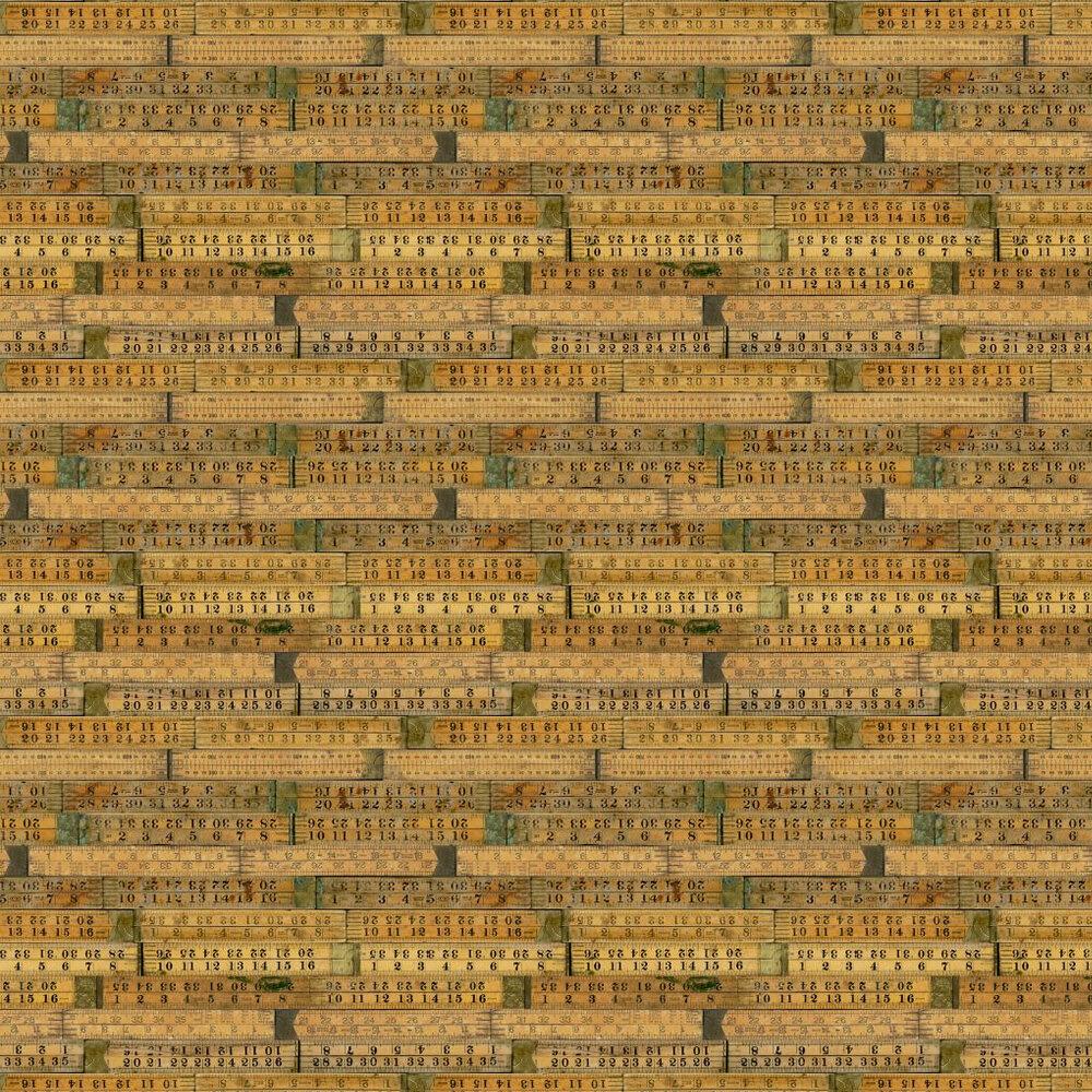 Linwood The Measure Brown / Black Wallpaper - Product code: LW49/1