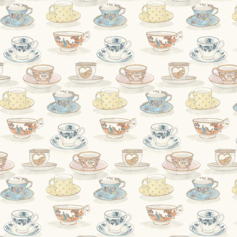 Linwood Tea Time  Multi Wallpaper - Product code: LW1458/1