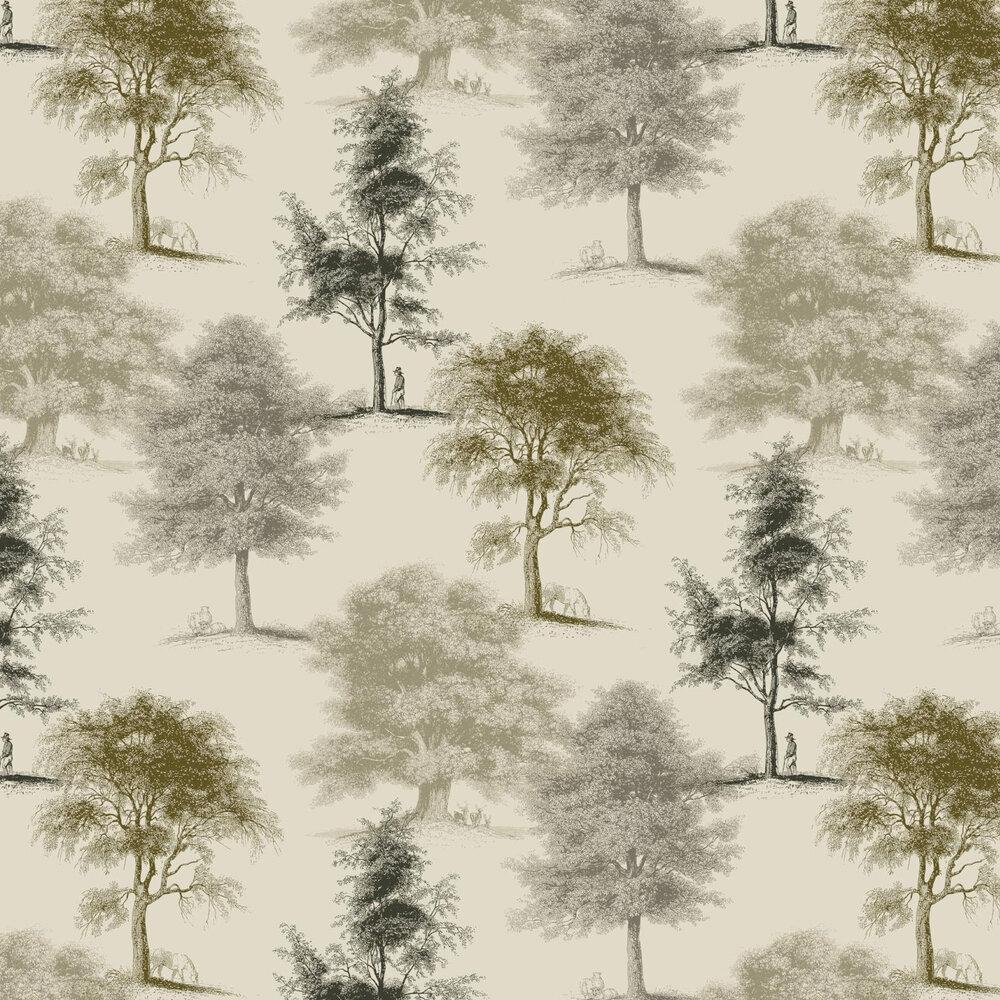 Linwood Park Life Sepia Wallpaper - Product code: LW1460/1