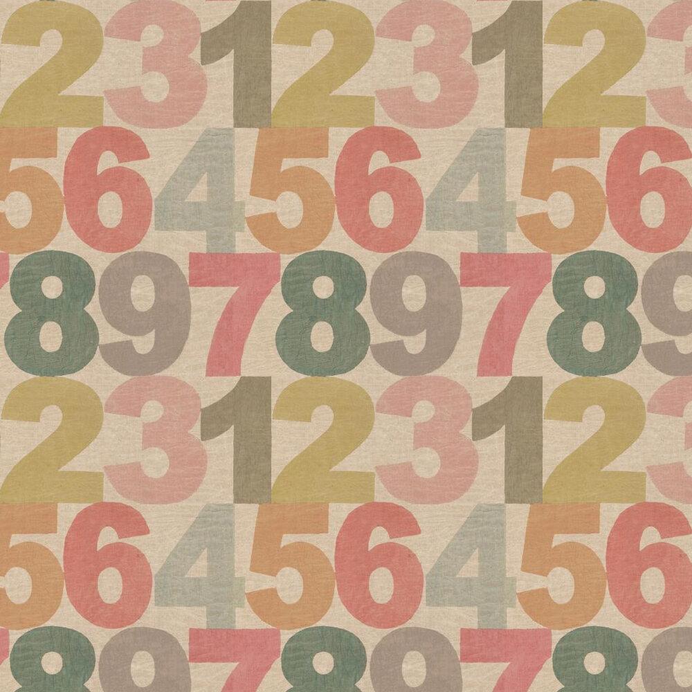 Linwood Rainbow Numbers  Multi Wallpaper - Product code: LW1451/1