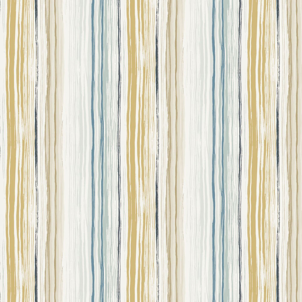 Zing Wallpaper - Denim - by Scion