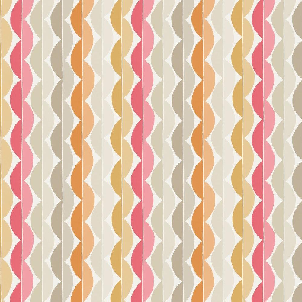 Yoki  Wallpaper - Terracotta - by Scion