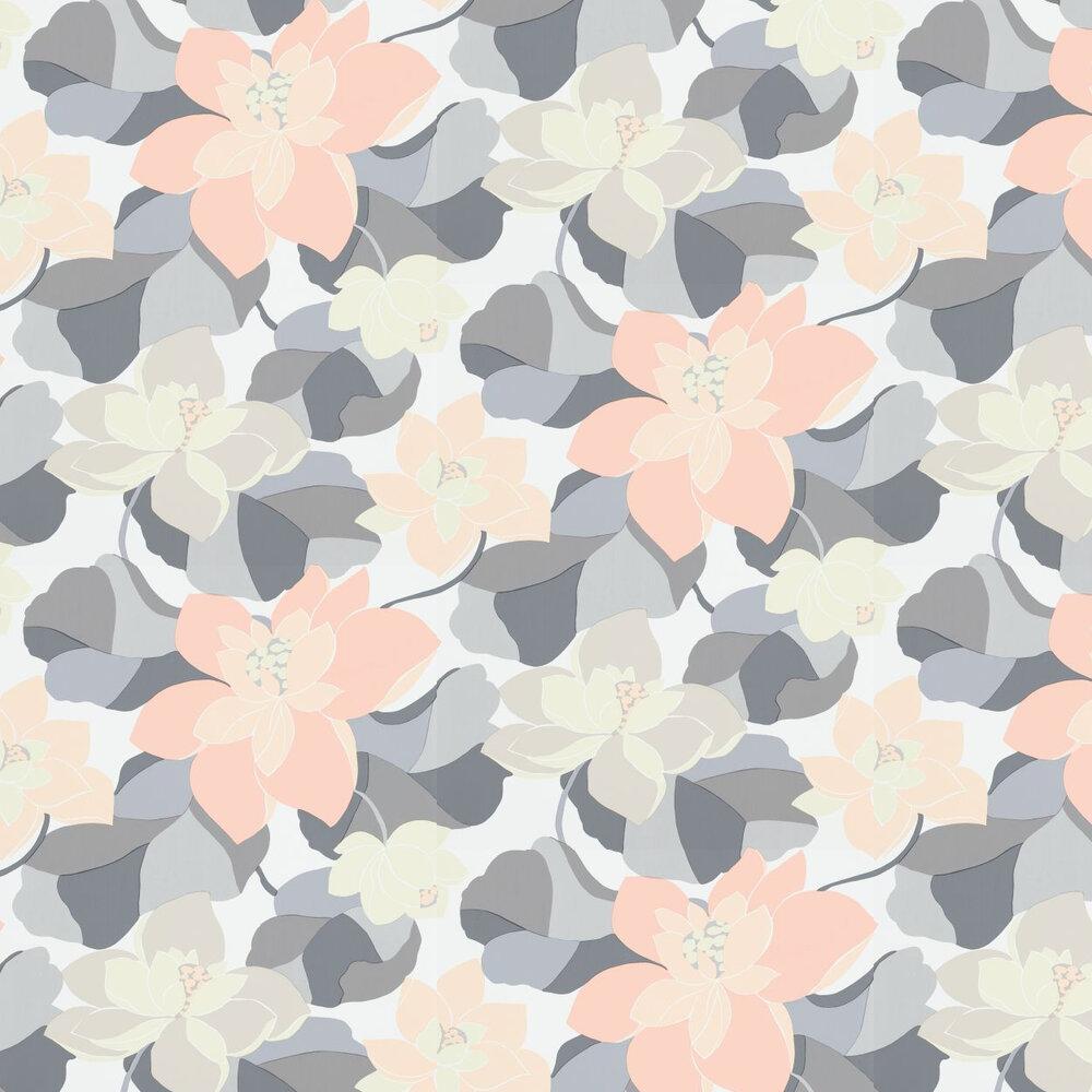 Diva Wallpaper - Pebble - by Scion