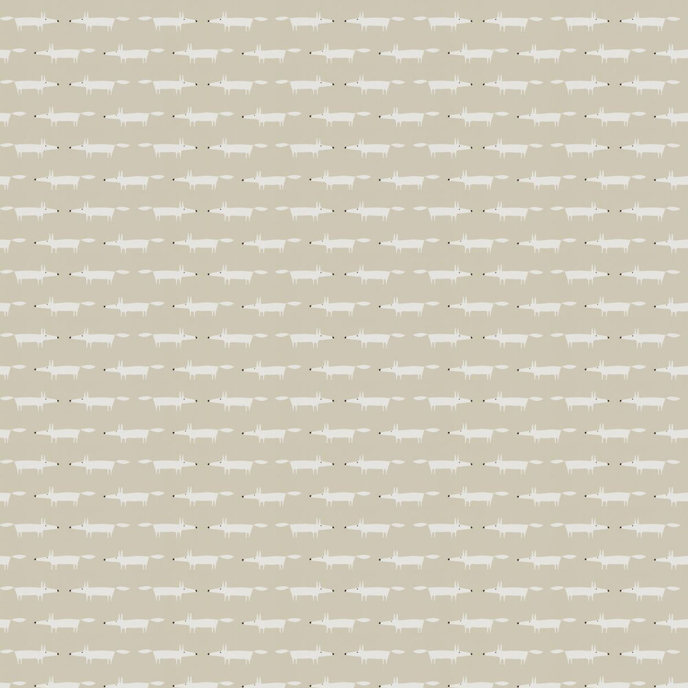 Scion Little Fox Snow  Wallpaper - Product code: 110839