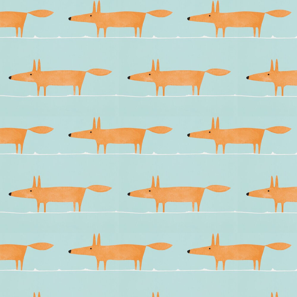 Mr Fox Wallpaper - Auburn - by Scion