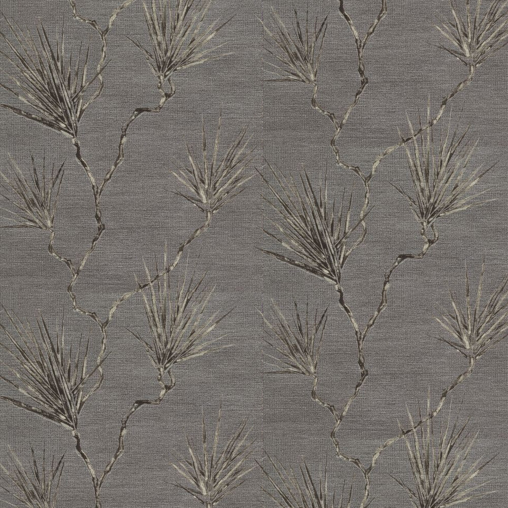 Peninsula Palm Truffle Wallpaper - by Anthology