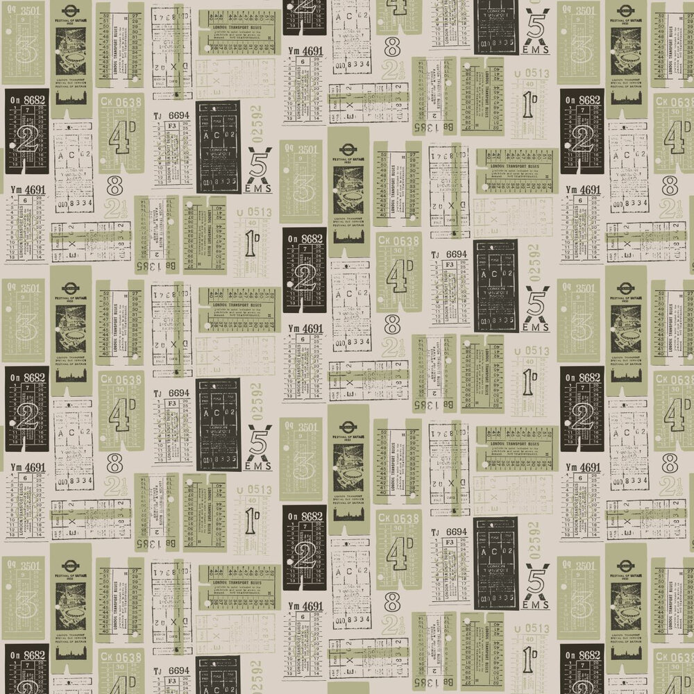 Mini Moderns Hold Tight  British Lichen Wallpaper - Product code: AZDPT017 Lichen