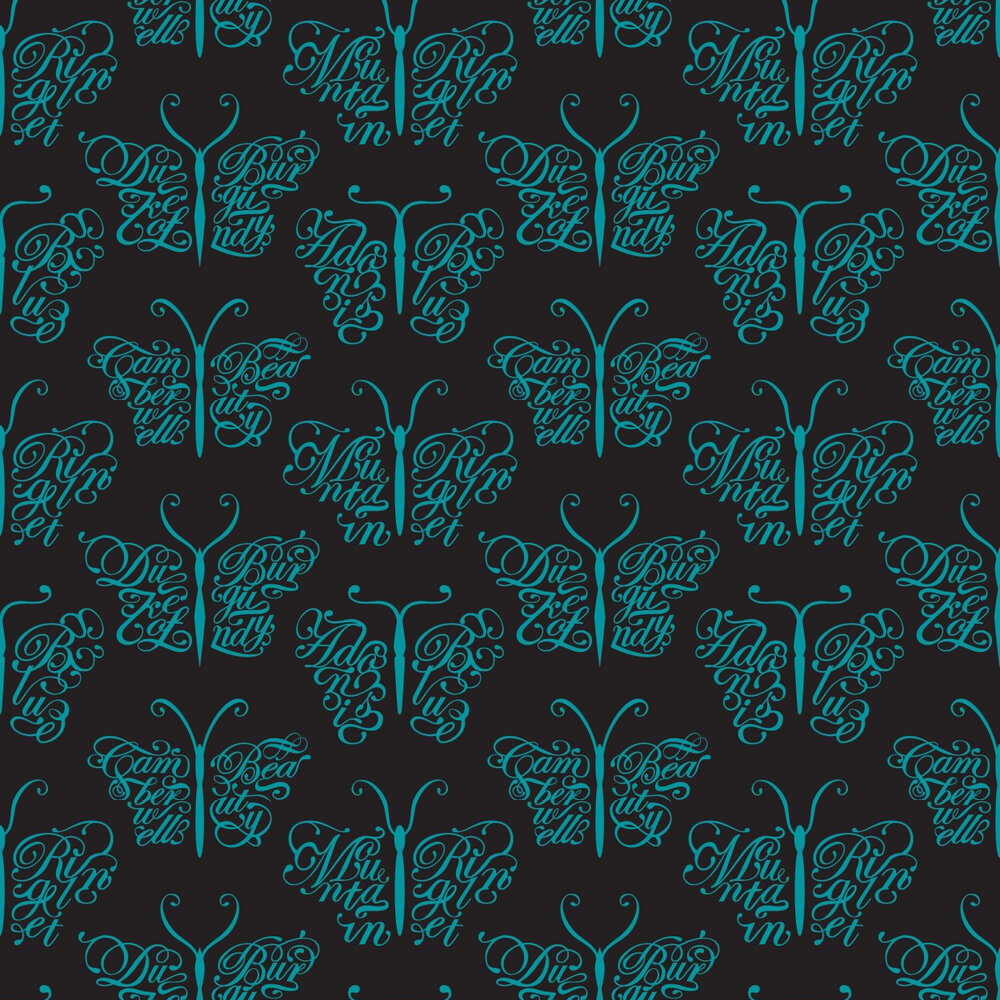 Mini Moderns Camberwell Beauty  Midnight Wallpaper - Product code: AZDPT018 Midnight