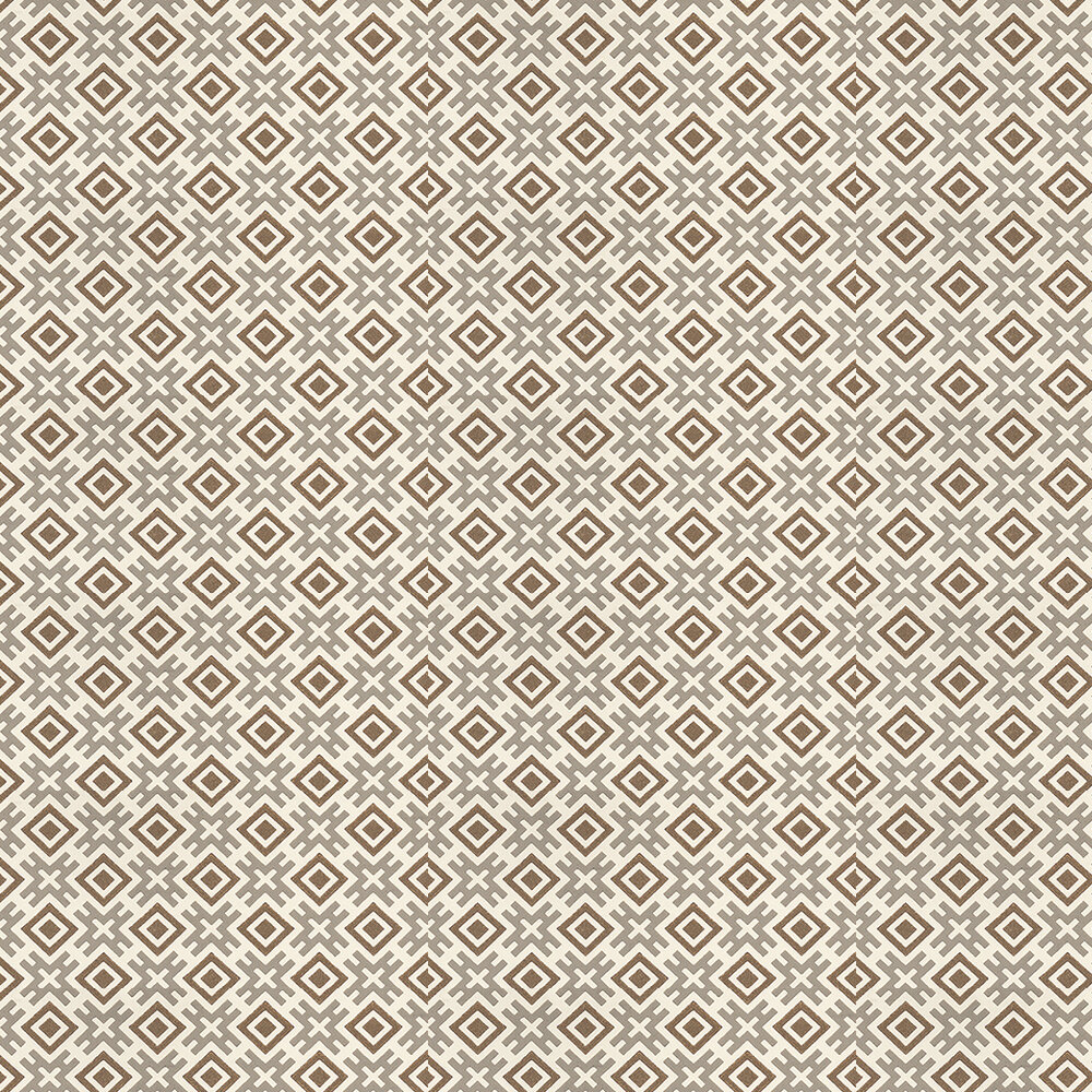 G P & J Baker Hicksonian Taupe / Bronze Wallpaper - Product code: BW45059/7
