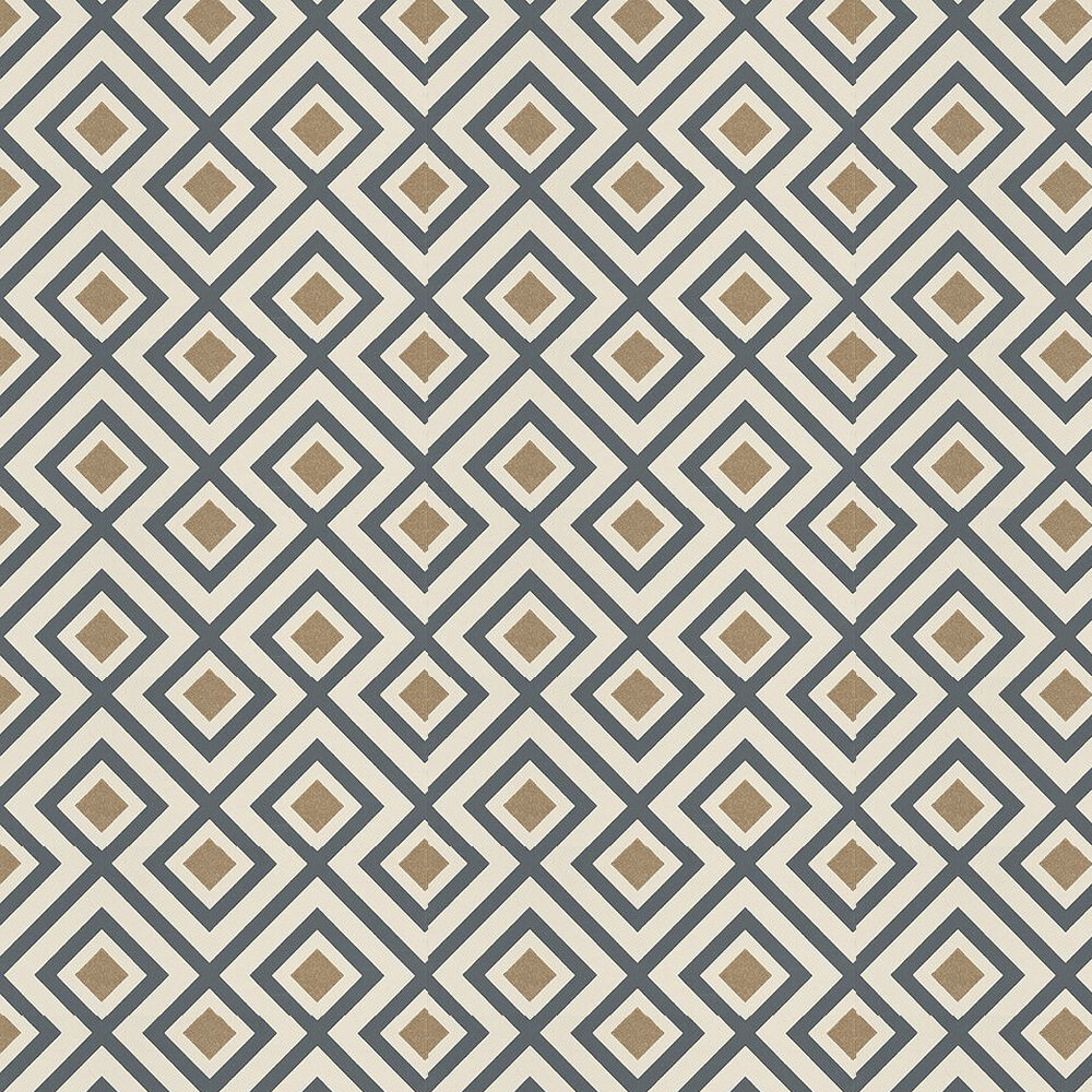 G P & J Baker La Fiorentina Charcoal / Cream / Metallic Gold Wallpaper - Product code: BW45061/6