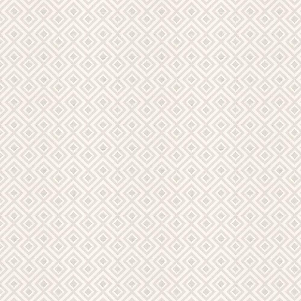 La Fiorentina Small Wallpaper - Dove Grey / White - by G P & J Baker