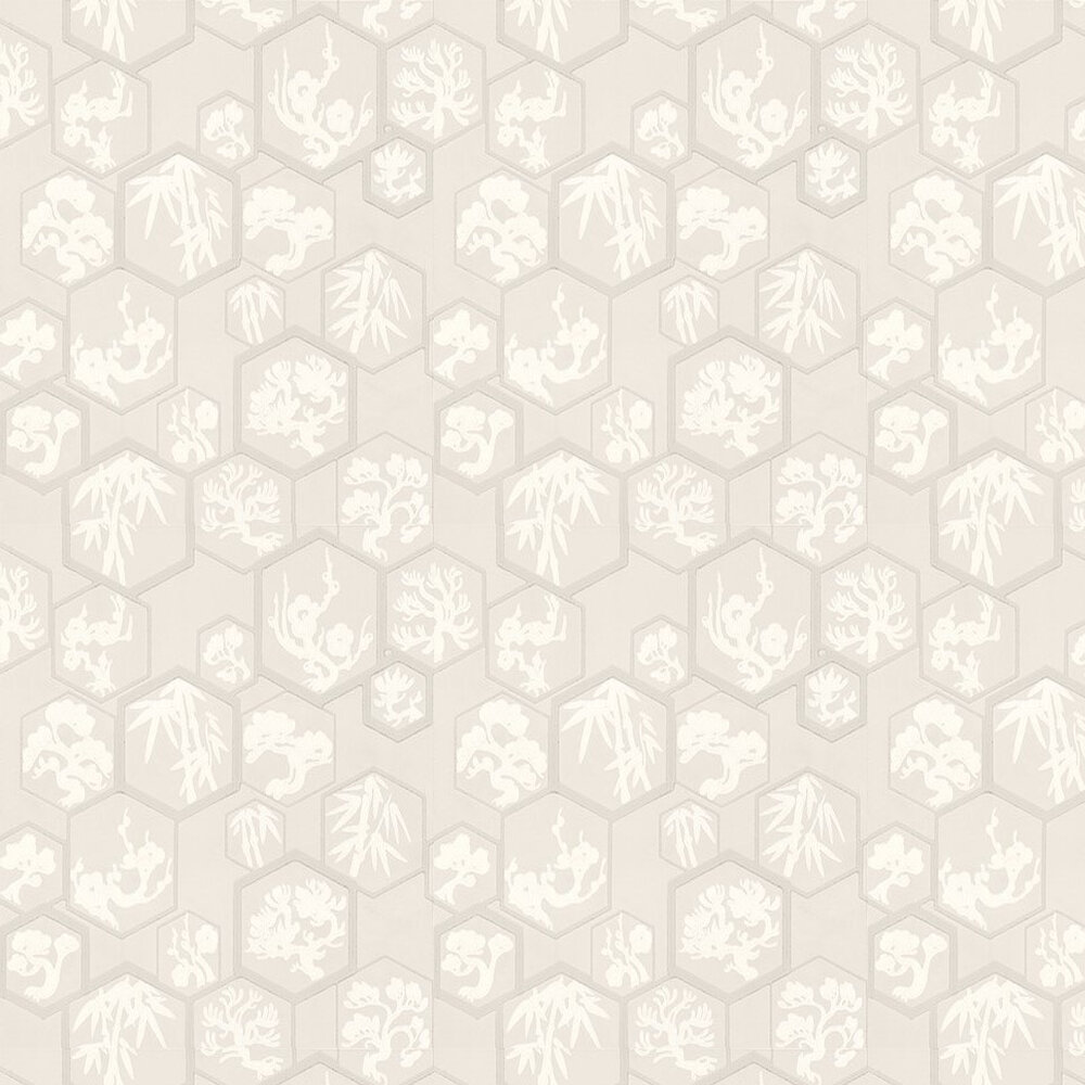 Farrow & Ball Shouchikubai  Pale Pink Wallpaper - Product code: BP 4501