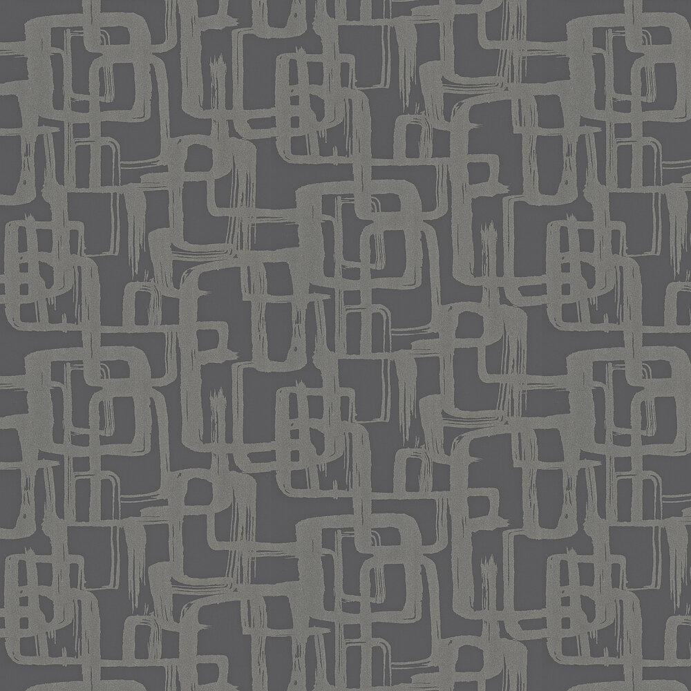 Harlequin Asuka Silver/Slate Wallpaper - Product code: 110905
