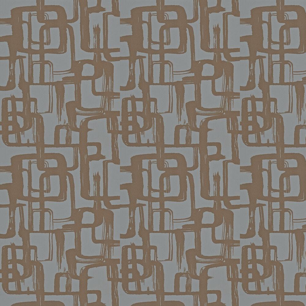 Harlequin Asuka Bronze/Graphite Wallpaper - Product code: 110908