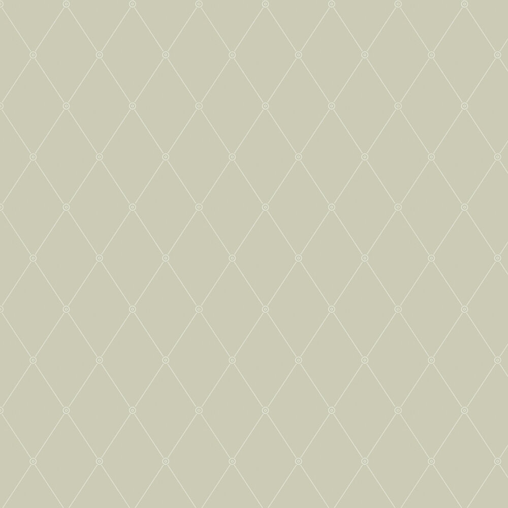 Cole & Son Large Georgian Rope Trellis  Olive Wallpaper - Product code: 100/13065