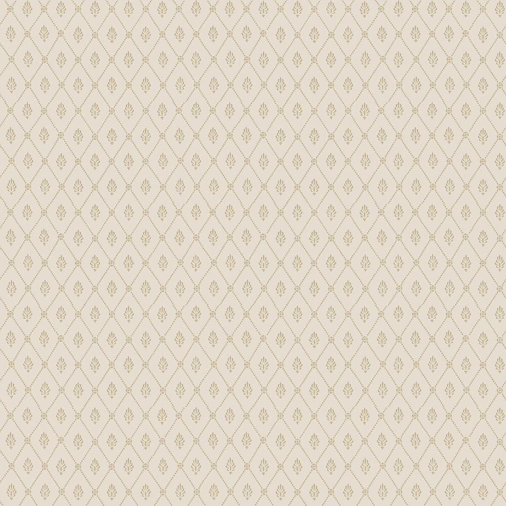 Alma  Wallpaper - Buff & Gold - by Cole & Son