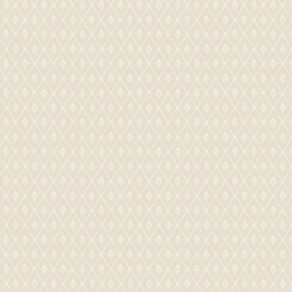 Alma  Wallpaper - Soft Grey - by Cole & Son