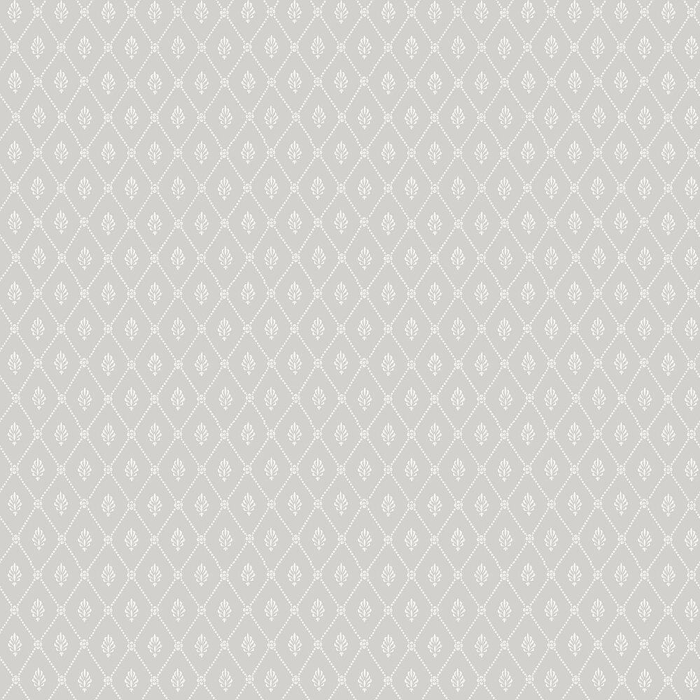 Alma  Wallpaper - Grey - by Cole & Son
