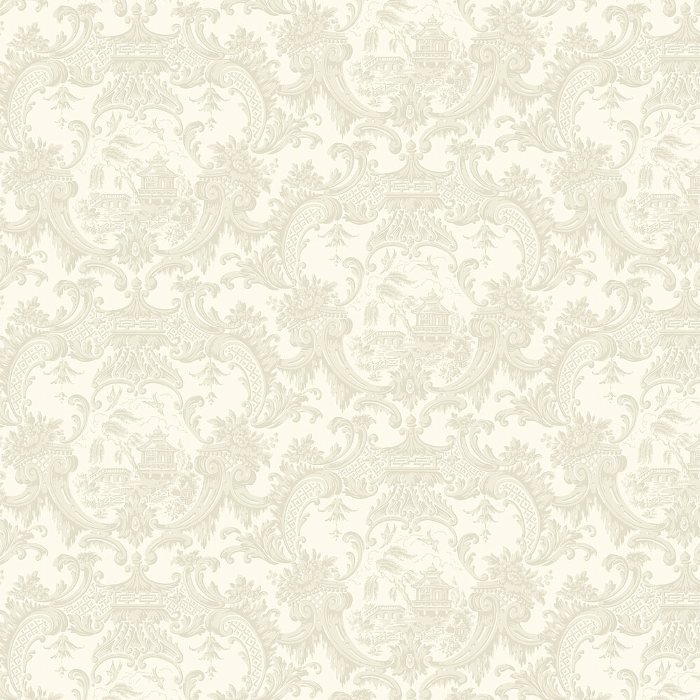 Chippendale China Wallpaper - Ivory - by Cole & Son