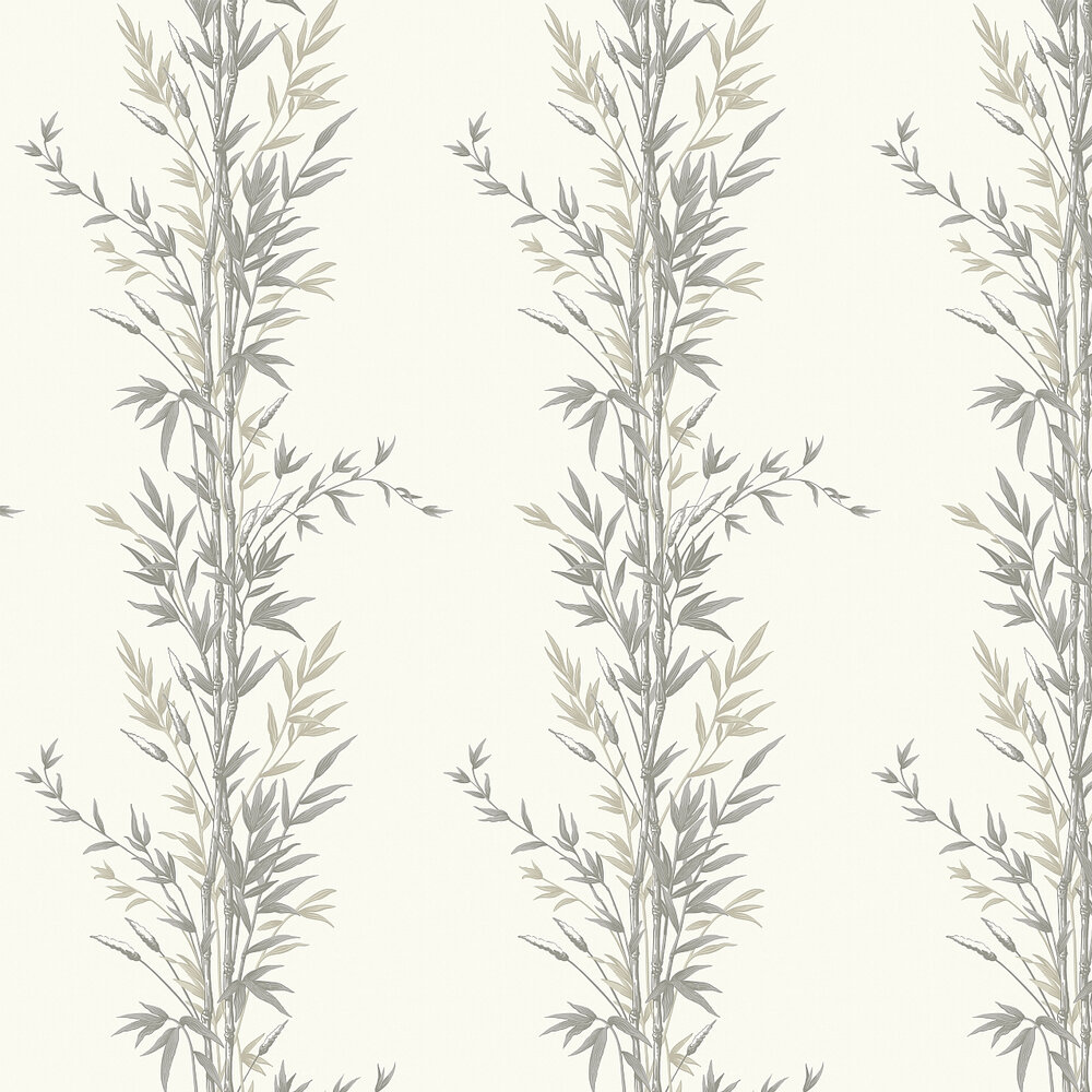 Bamboo  Wallpaper - Charcoal - by Cole & Son