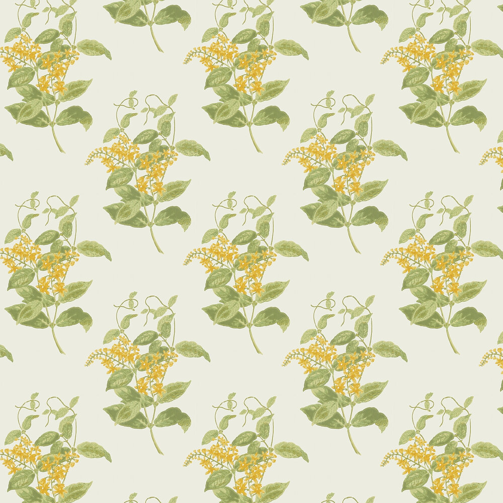 Cole & Son Madras Violet  Yellow Wallpaper - Product code: 100/12059