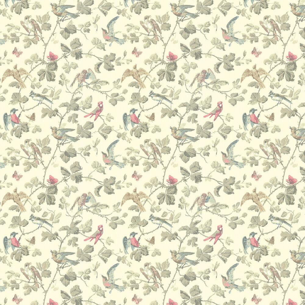 Winter Birds  Wallpaper - Linen - by Cole & Son