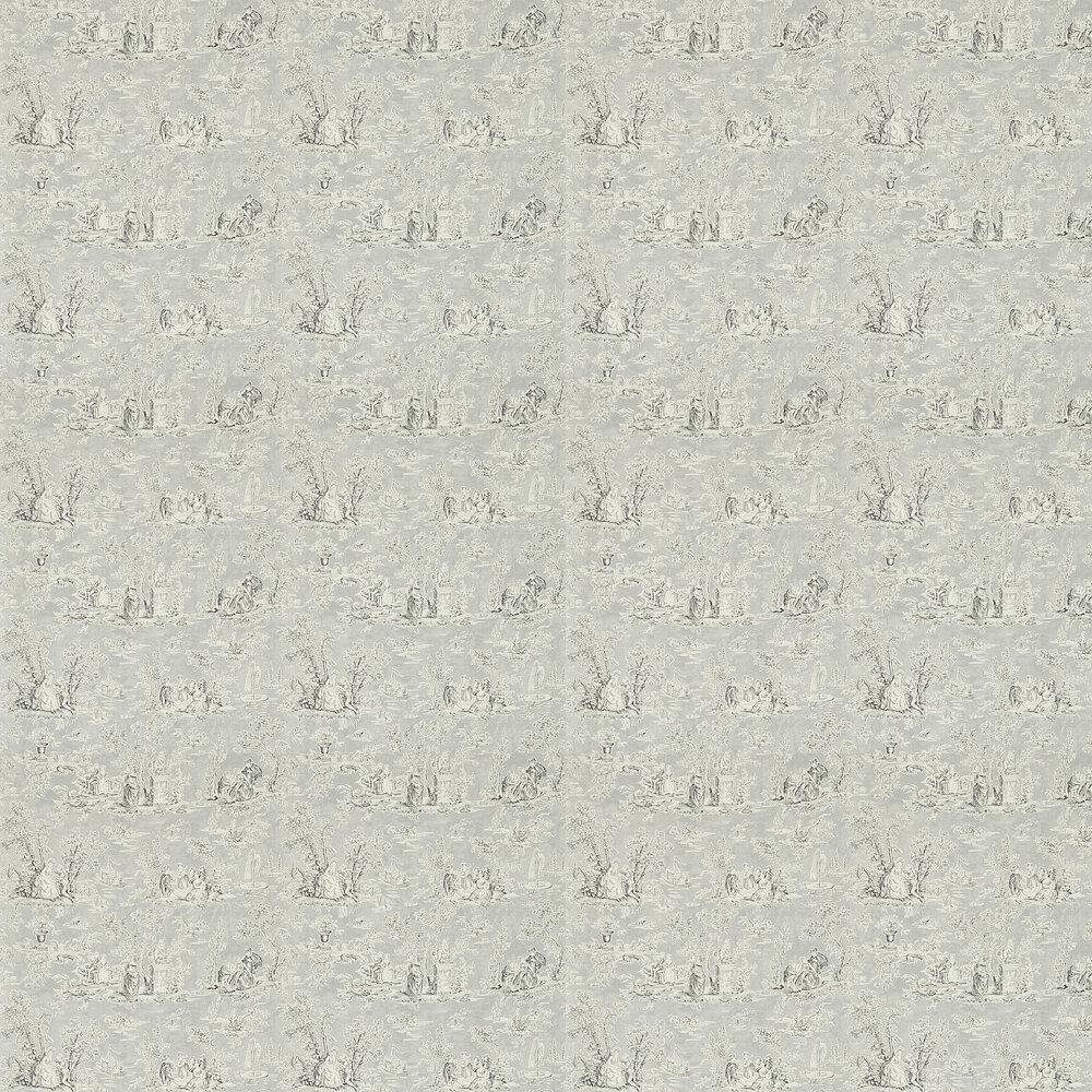 Sanderson Josette Charcoal/Dove Wallpaper - Product code: 214066