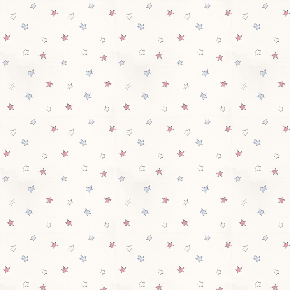 Coordonne Odissey Red Red / Blue / Off White Wallpaper - Product code: 3400040