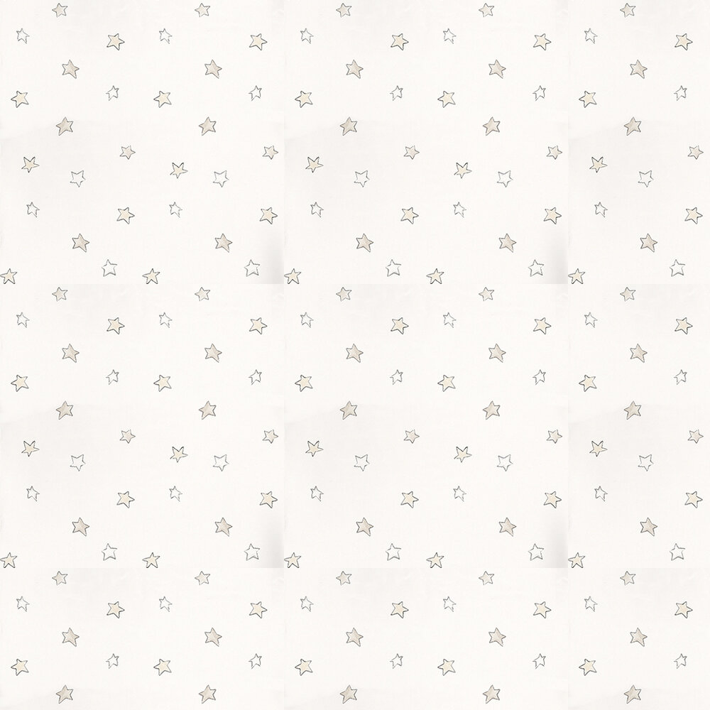 Coordonne Odissey Stone Cream / Taupe / White Wallpaper - Product code: 3400043