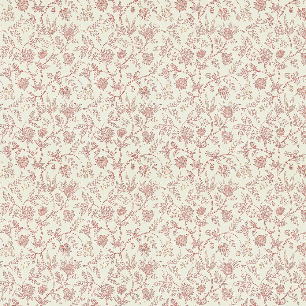 Sanderson Solaine Calico / Russet Wallpaper - Product code: 214086