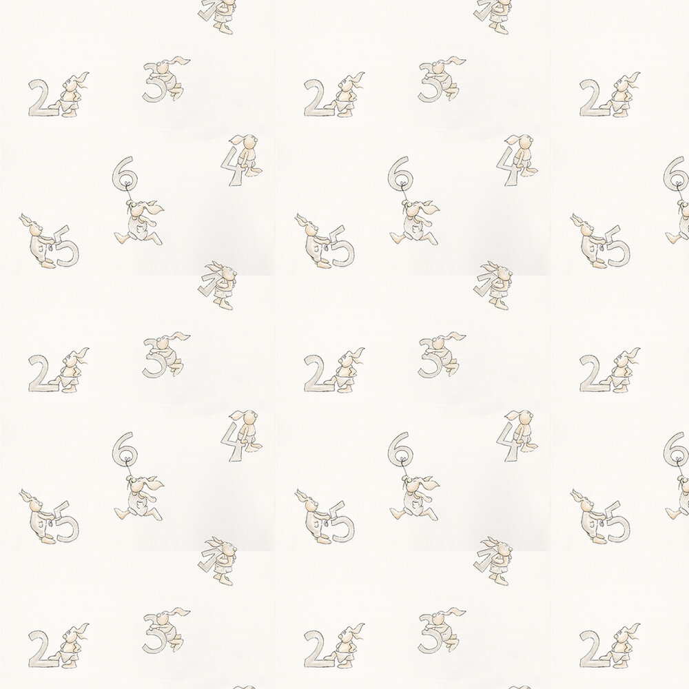 Coordonne Count Stone Stone / White Wallpaper - Product code: 3400033