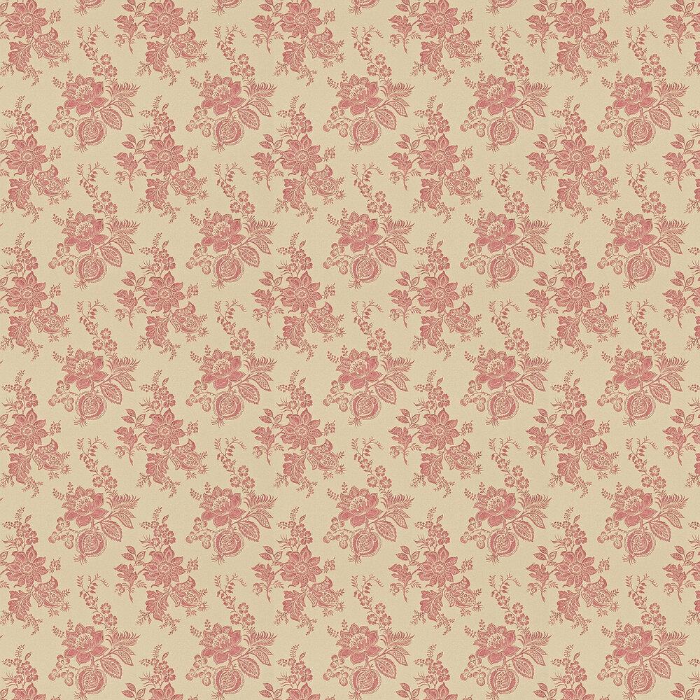 Sanderson Lyon Sand / Russet Wallpaper - Product code: 214092