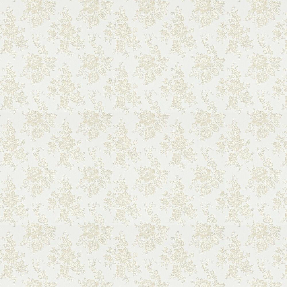 Sanderson Lyon  Ivory / Linen Wallpaper - Product code: 214093