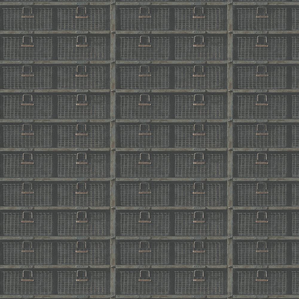 Andrew Martin Basket Oxidised Wallpaper - Product code: BSK01 - Oxidised