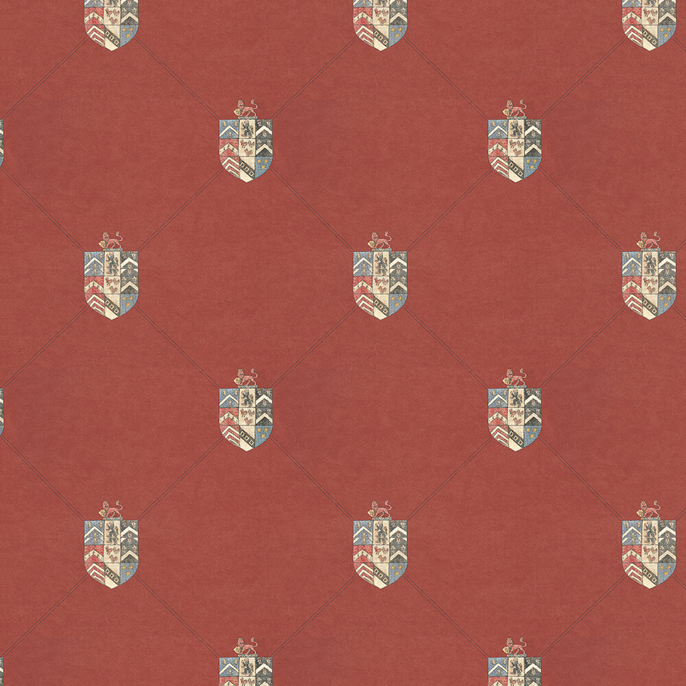 Andrew Martin Hastings Red Wallpaper - Product code: HS02 - Red