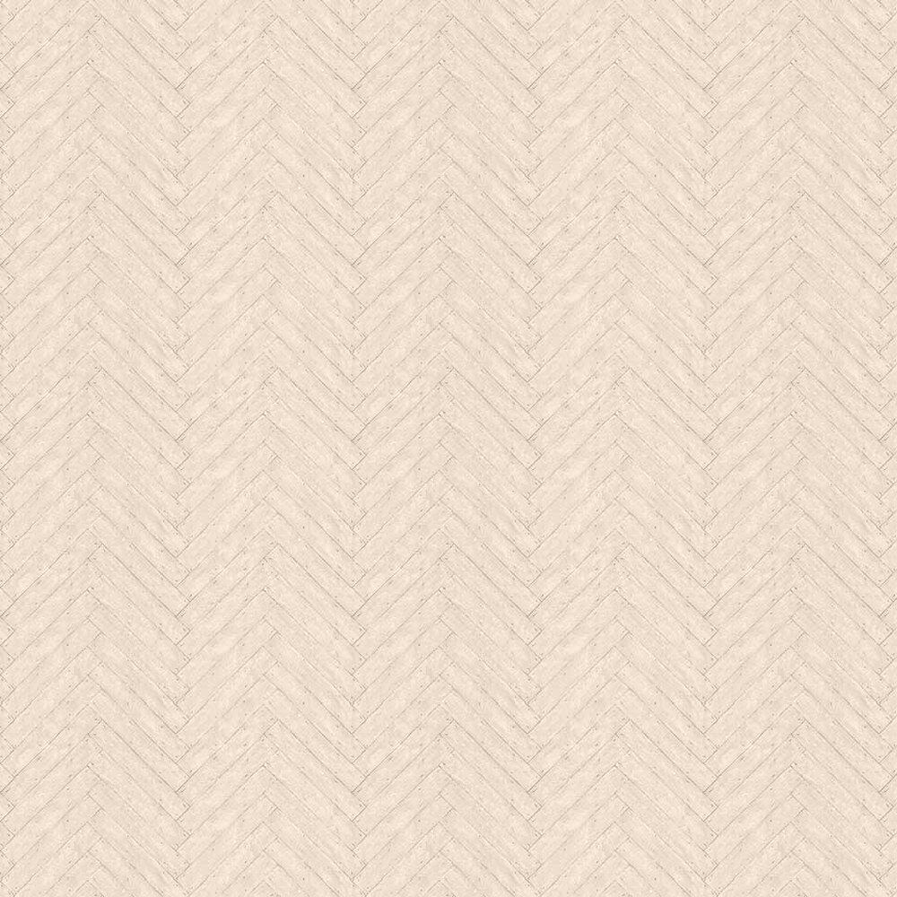 Parquet Linen Wallpaper - by Andrew Martin