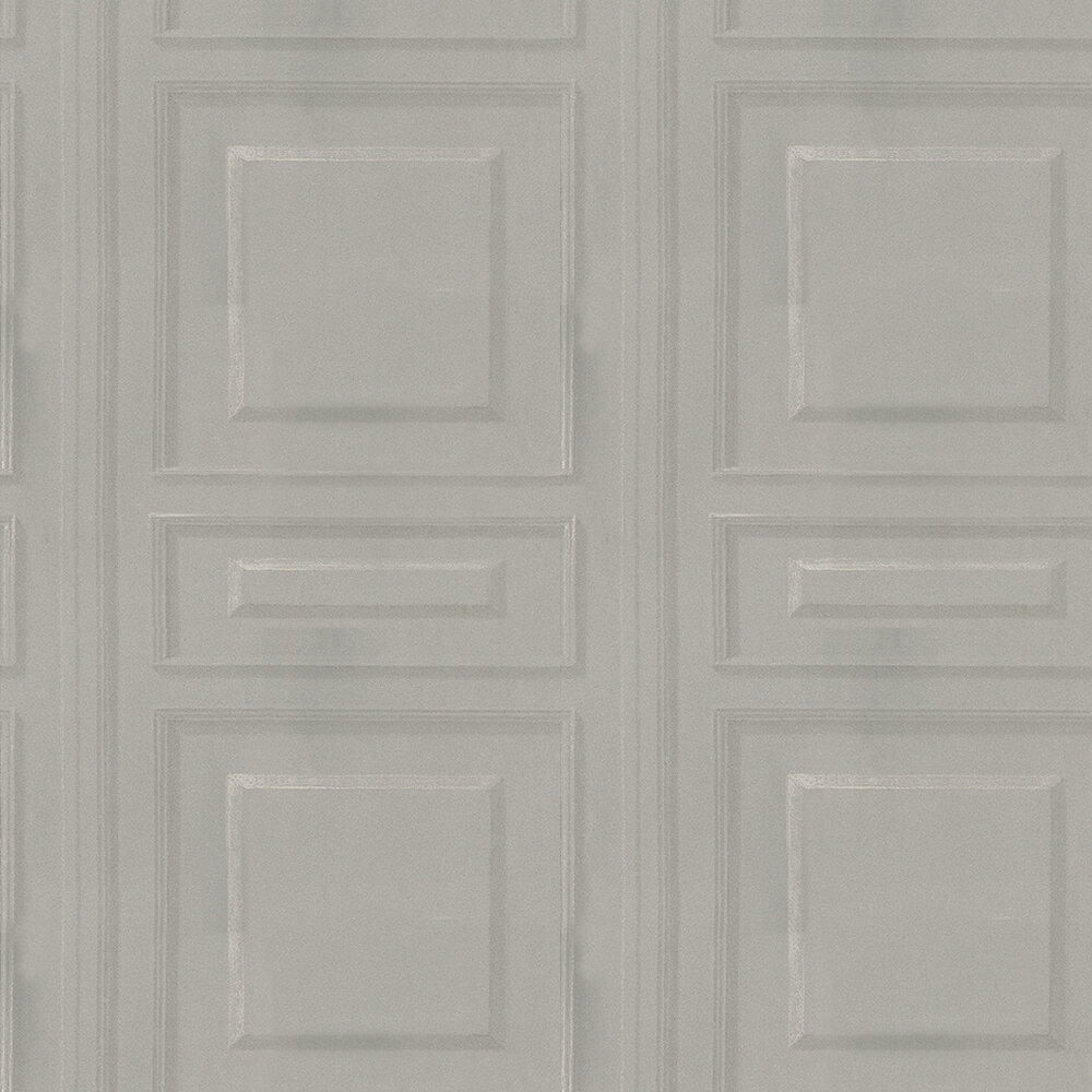 Trianon Charcoal Wallpaper - by Andrew Martin
