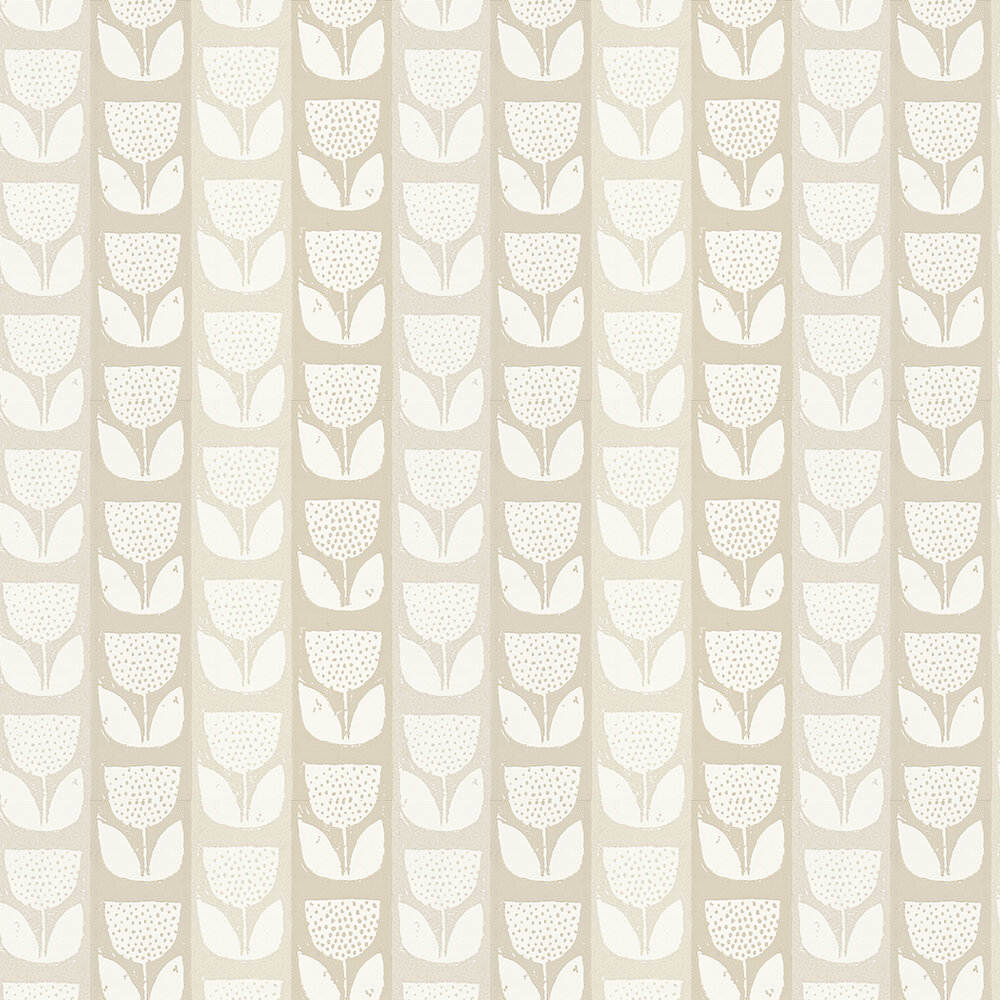 Prestigious Evie  Chalk Wallpaper - Product code: 1630/076