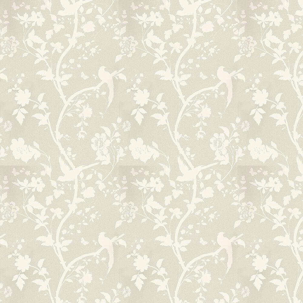 Oriental Garden By Laura Ashley Linen Wallpaper Wallpaper Direct