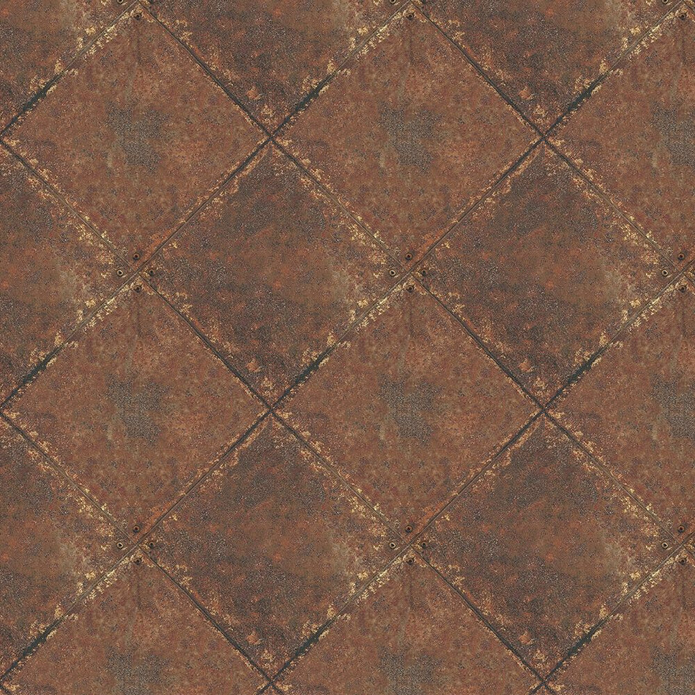 Kandola Metallica Rust Wallpaper - Product code: DW1589/01/001DOR
