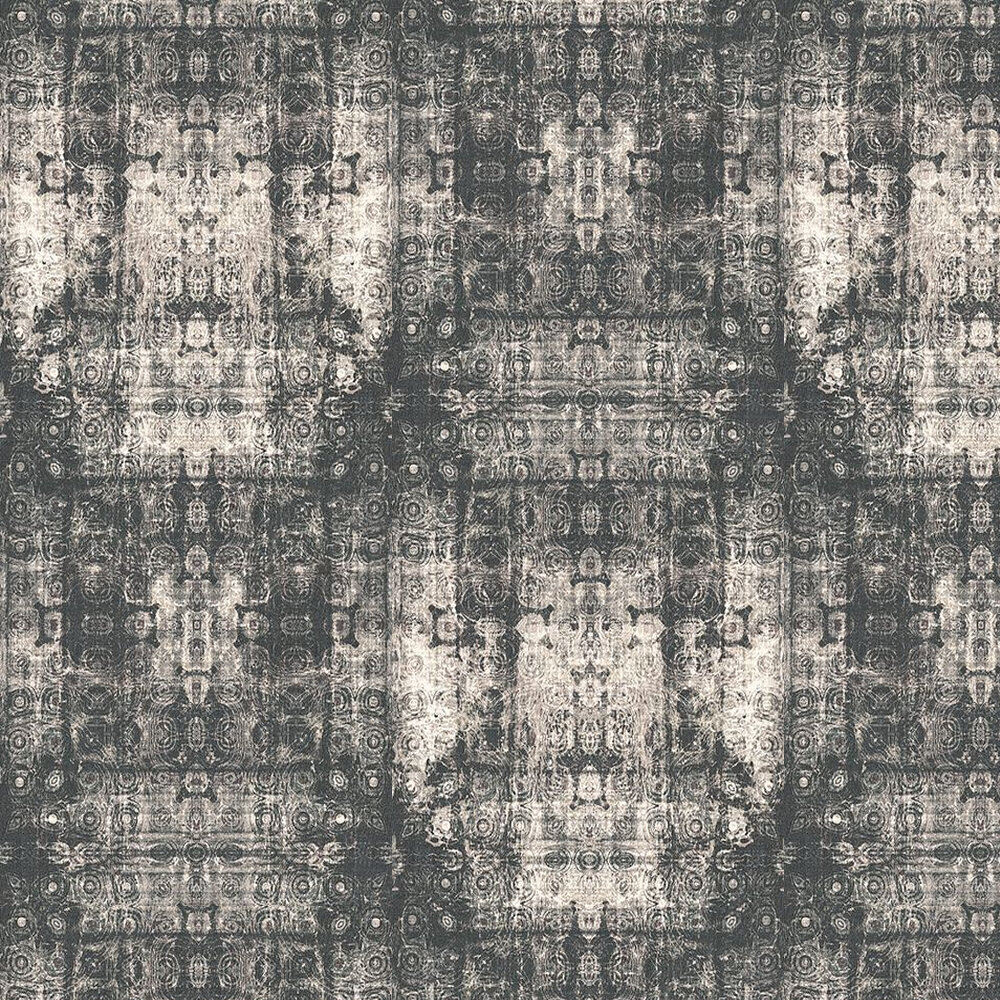 Kandola Tapestry Raison Grey Wallpaper - Product code: DW1590/02