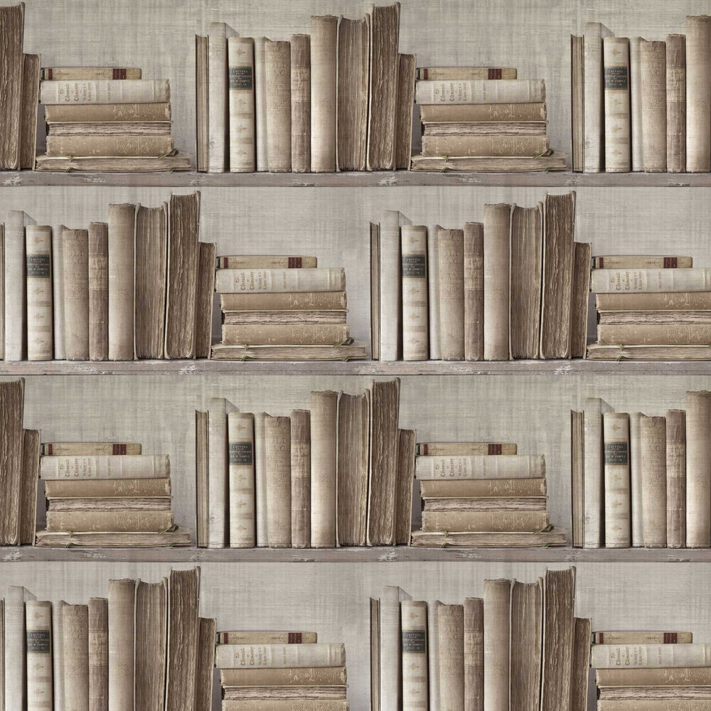 Lexicon Wallpaper - Brown - by Sidney Paul & Co